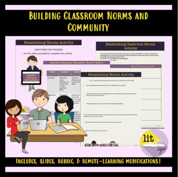 Link to buy activity building classroom norms and community